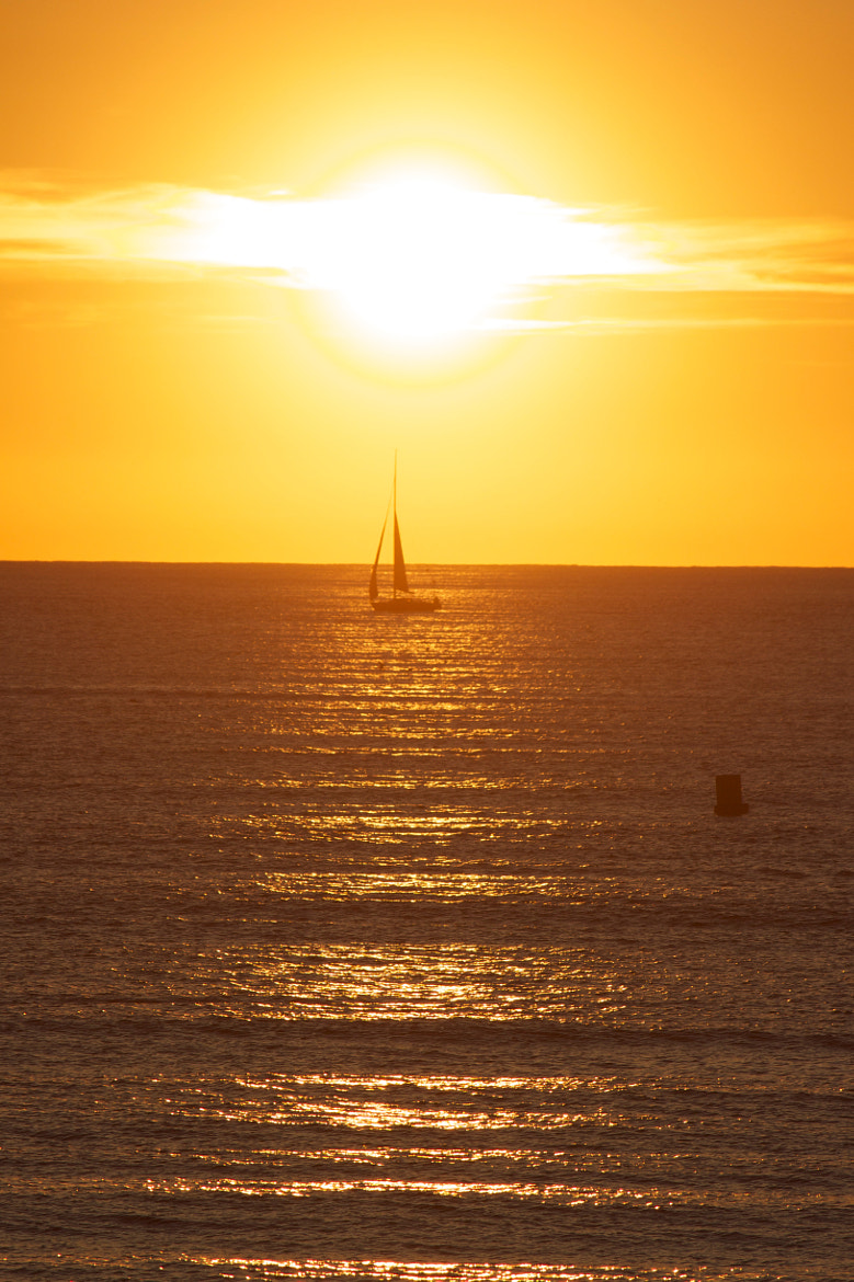 Photograph Sunset in Half Moon Bay by Renata  Velloso on 500px