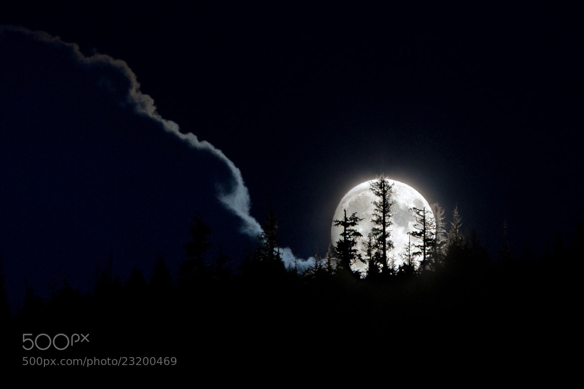 Photograph Canadian Moonrise II by Steve Passlow on 500px