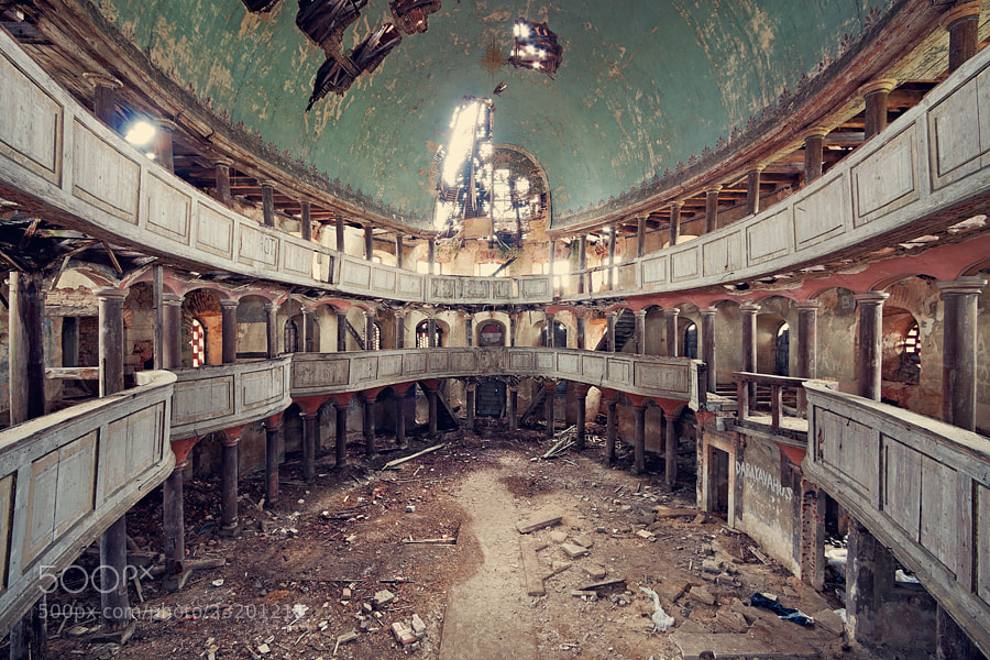Photograph Abandoned Temple 2 by Lukasz Malkiewicz on 500px