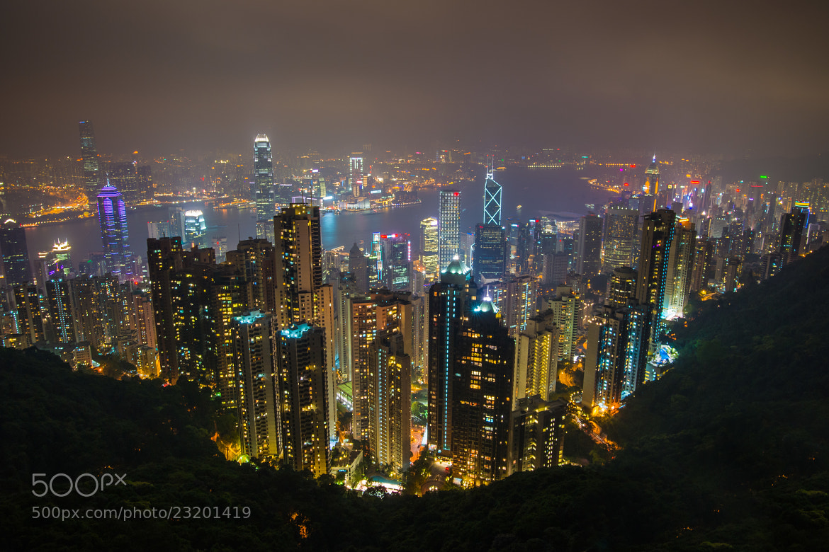 Photograph The night view in HK by Koming Chen on 500px