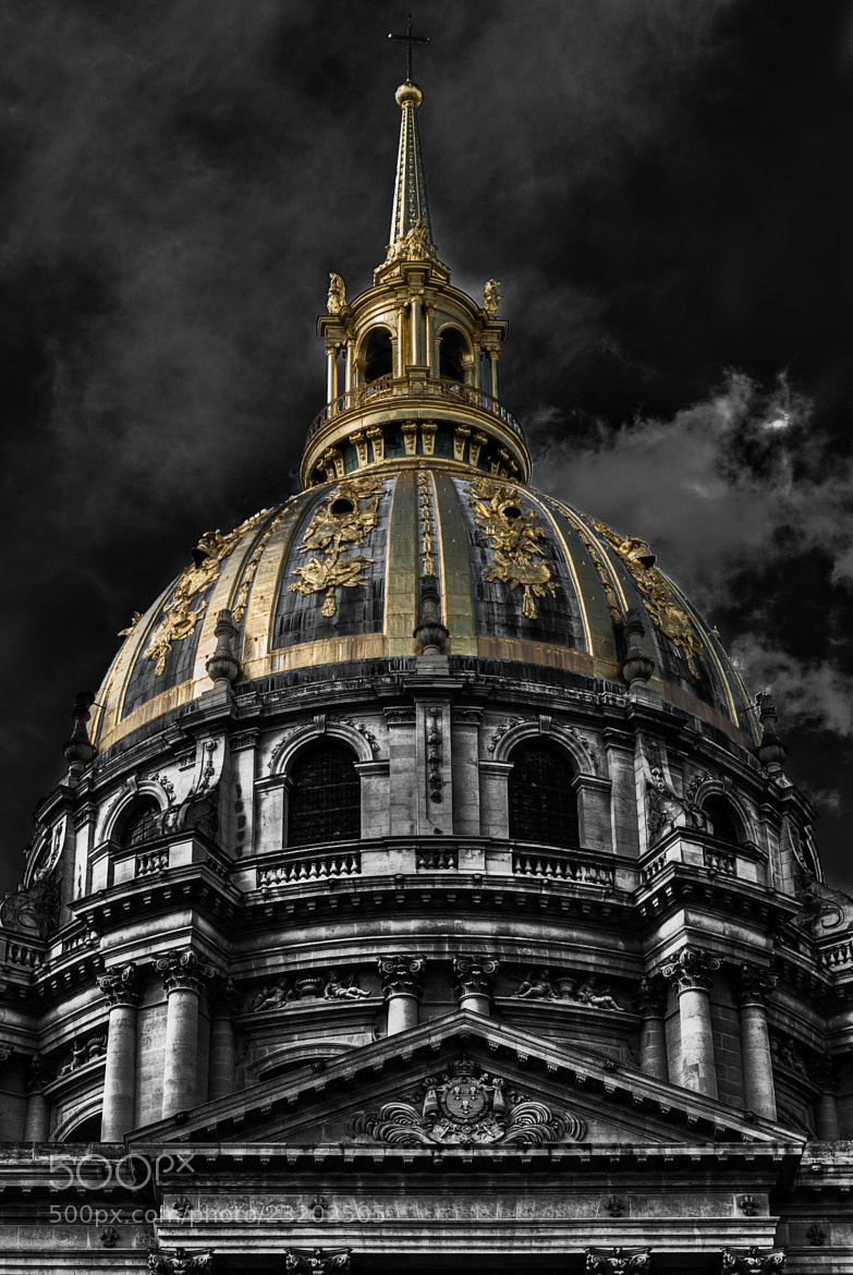 Photograph Les invalides: Dome about Napoleon´s tomb by Paco López on 500px