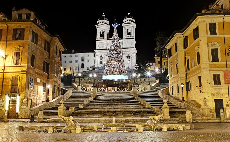 Photograph Trinita' dei Monti by Stefano Di Chiara on 500px