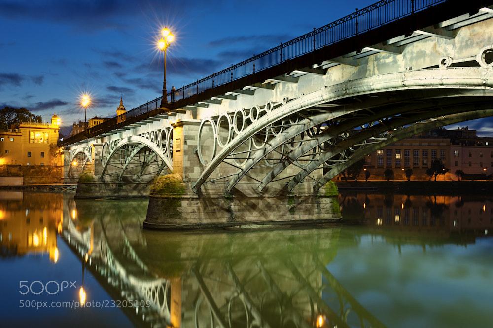 Photograph Triana Bridge Sevilla by Allard Schager on 500px