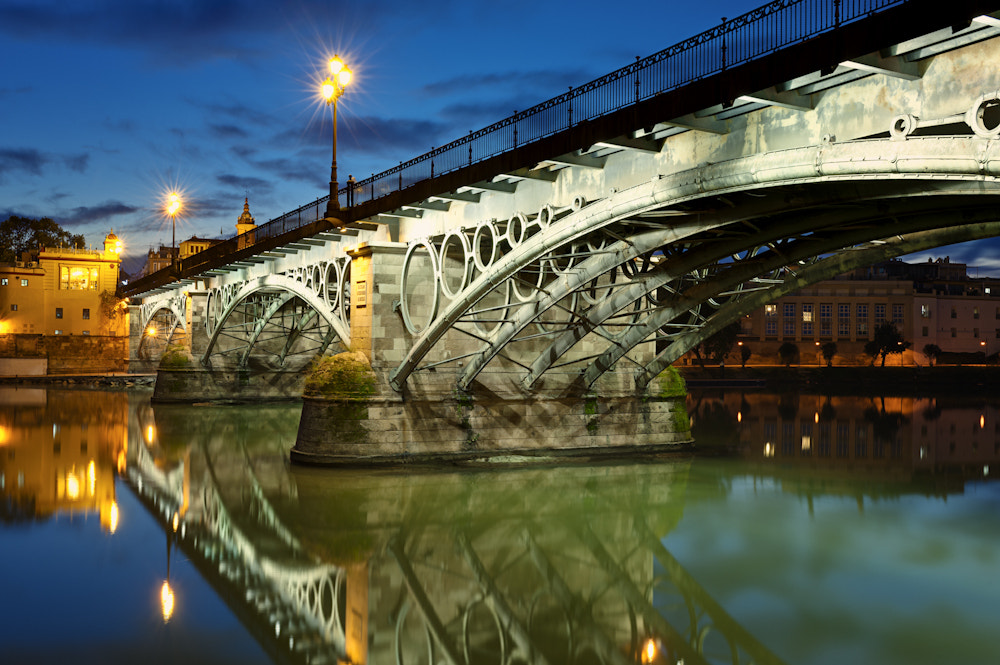 Photograph Triana Bridge Sevilla by Allard Schager on 500px