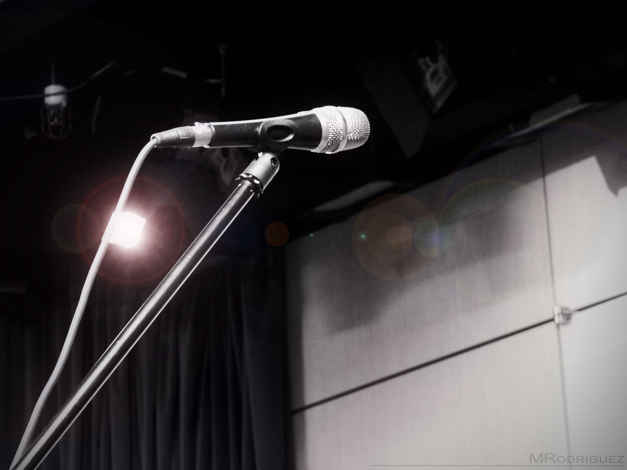 Photograph Microphone by Mitchie Rodriguez on 500px