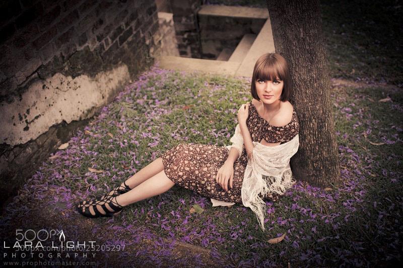 Photograph Lisa by Lara Light on 500px