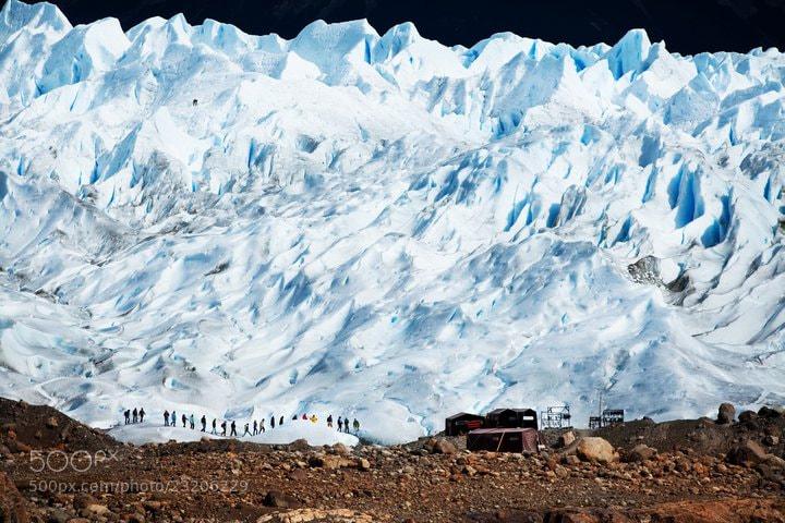 Photograph Perito Moreno by Izabela Urbaniak on 500px