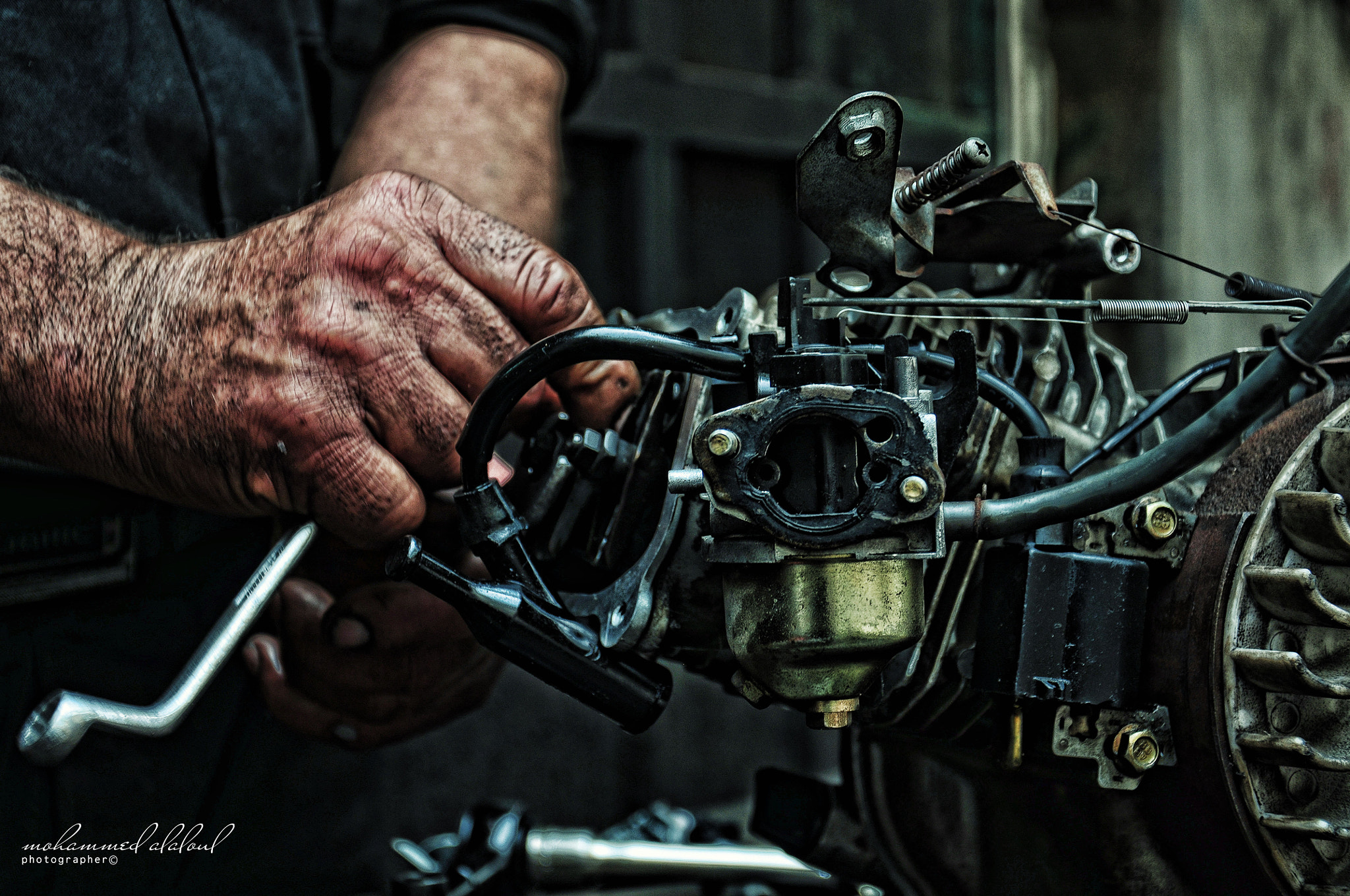 Photograph Mechanical by Mohammed Al Aloul on 500px