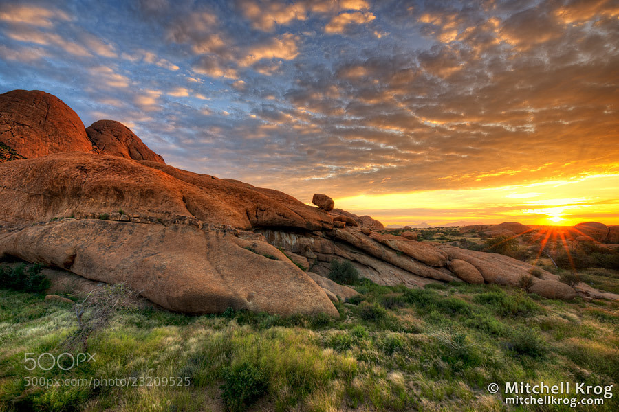 Photograph Spitzkoppe Sunrise | Namibia by Mitchell Krog on 500px