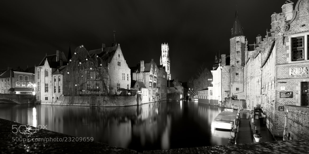 Photograph Bruges by night by Pierre-Eric Guisard on 500px