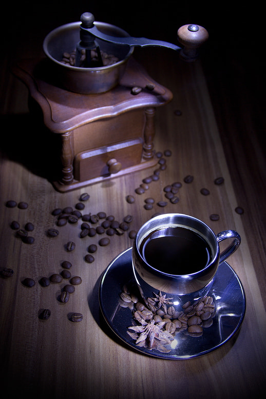 Photograph Night Coffee by Elena Vocele on 500px
