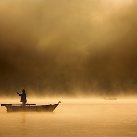 Fishing in haze by Marcin Sobas (MarcinSobas)) on 500px.com