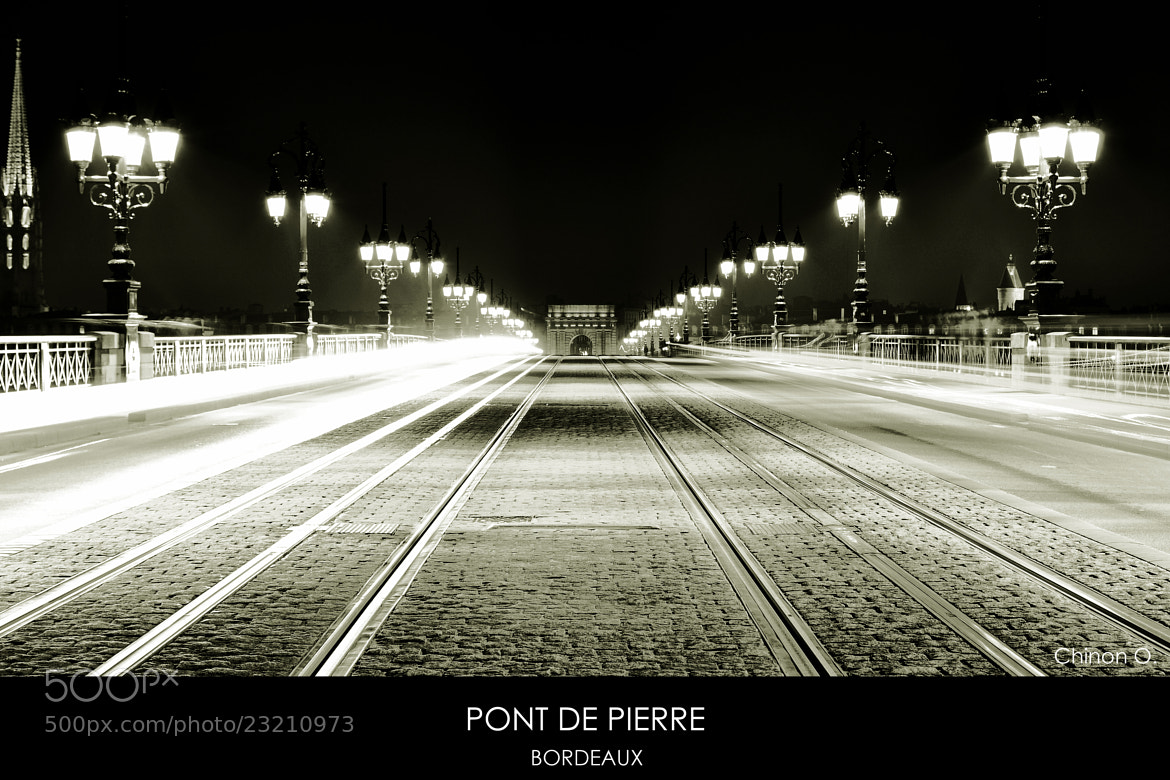 Photograph Pont de Pierre  by Chinon Orlane on 500px