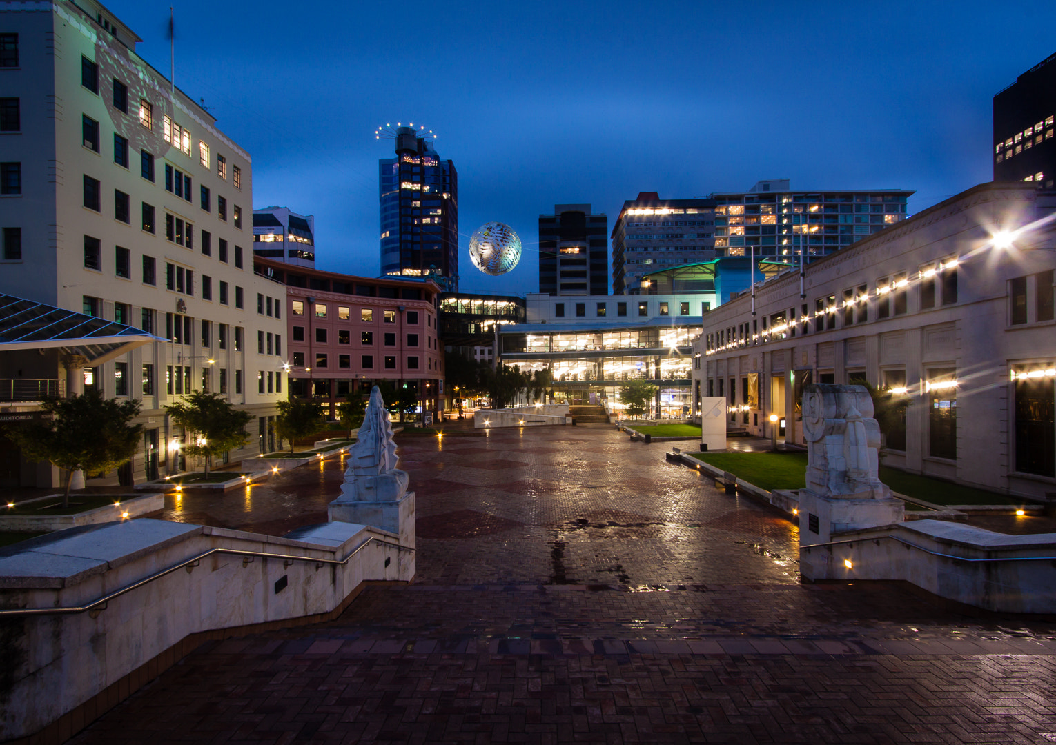 Photograph Civic Square by David Arthur on 500px
