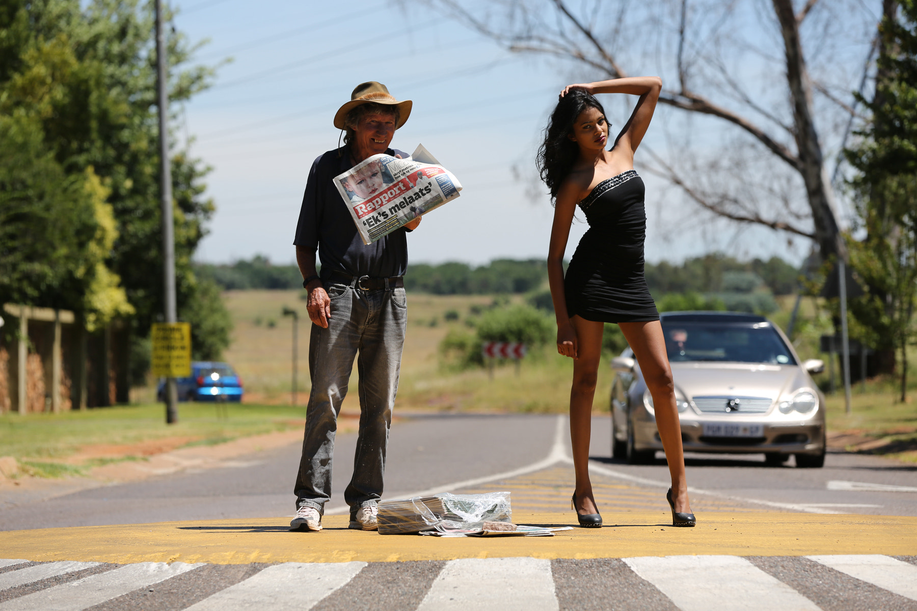 Photograph How to sell a newspaper by Pieter Oosthuysen on 500px