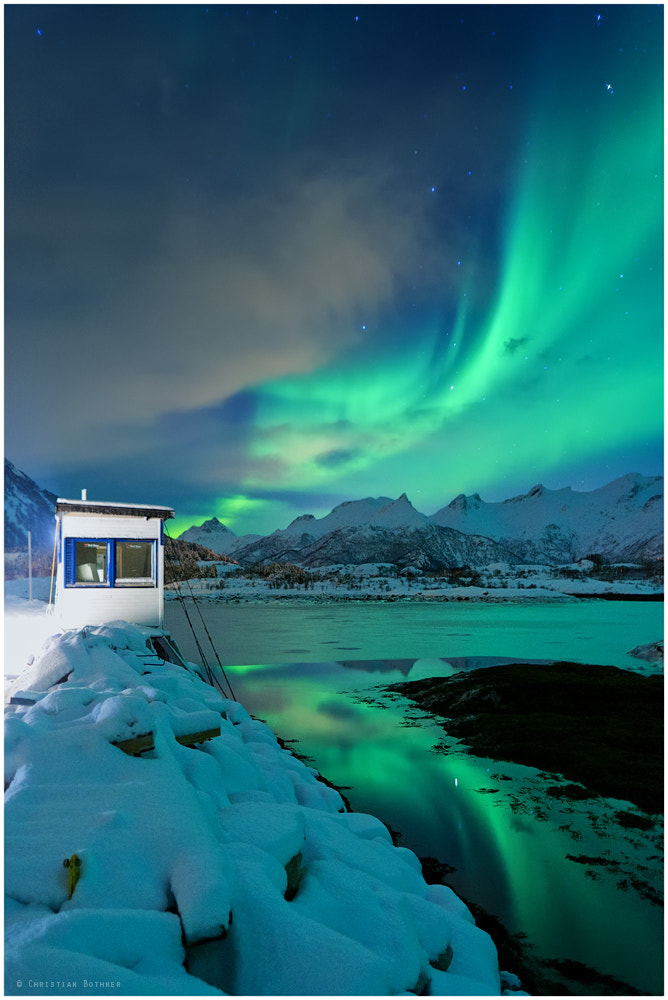 Photograph The Northern Lights   Lofoten   Norway  by Christian Ringer on 500px