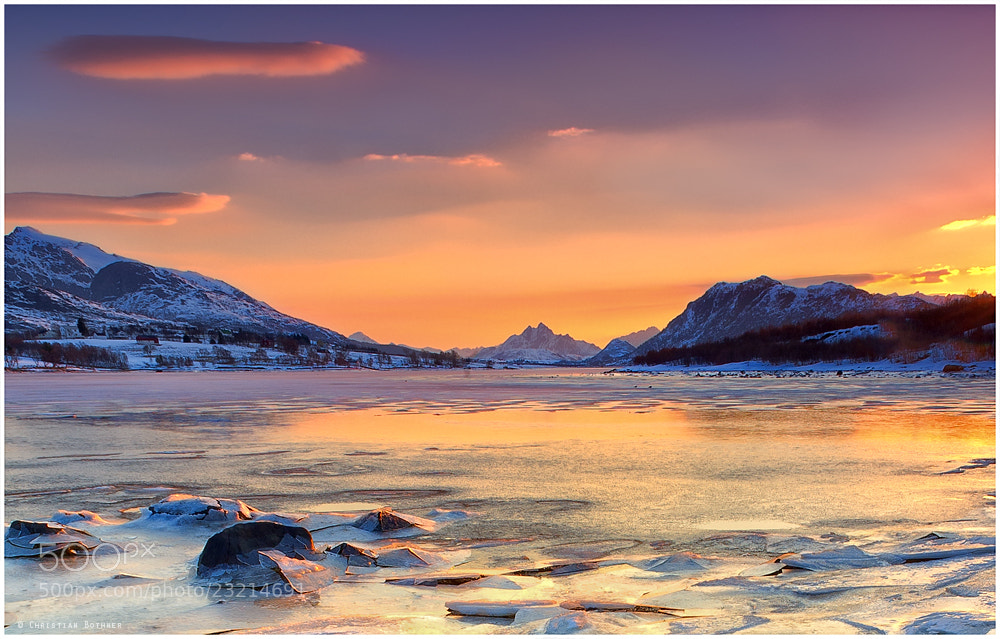 Photograph Lofoten Sunrise by Christian Bothner on 500px