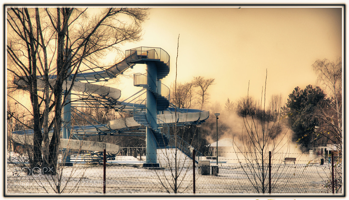 Photograph Winter in the Spa by Edmund Orzsik on 500px