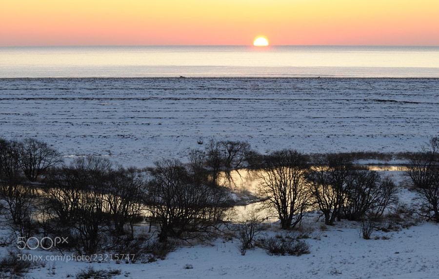 Photograph Sunrise over Pacific ocean. by Igor Shpilenok on 500px