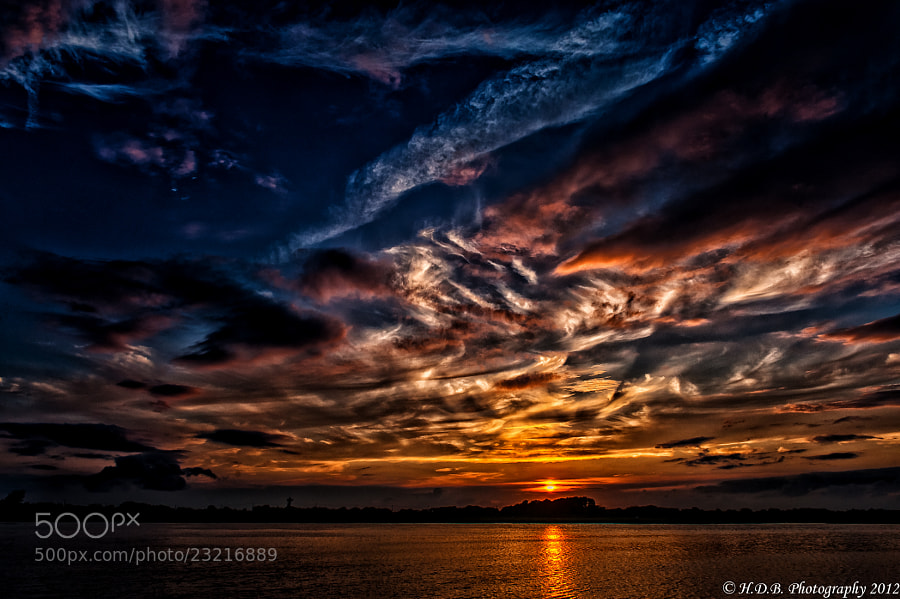 Photograph A NY Sunset by Harold Begun on 500px