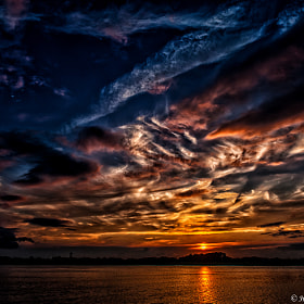 A NY Sunset by Harold Begun (HaroldBegun)) on 500px.com