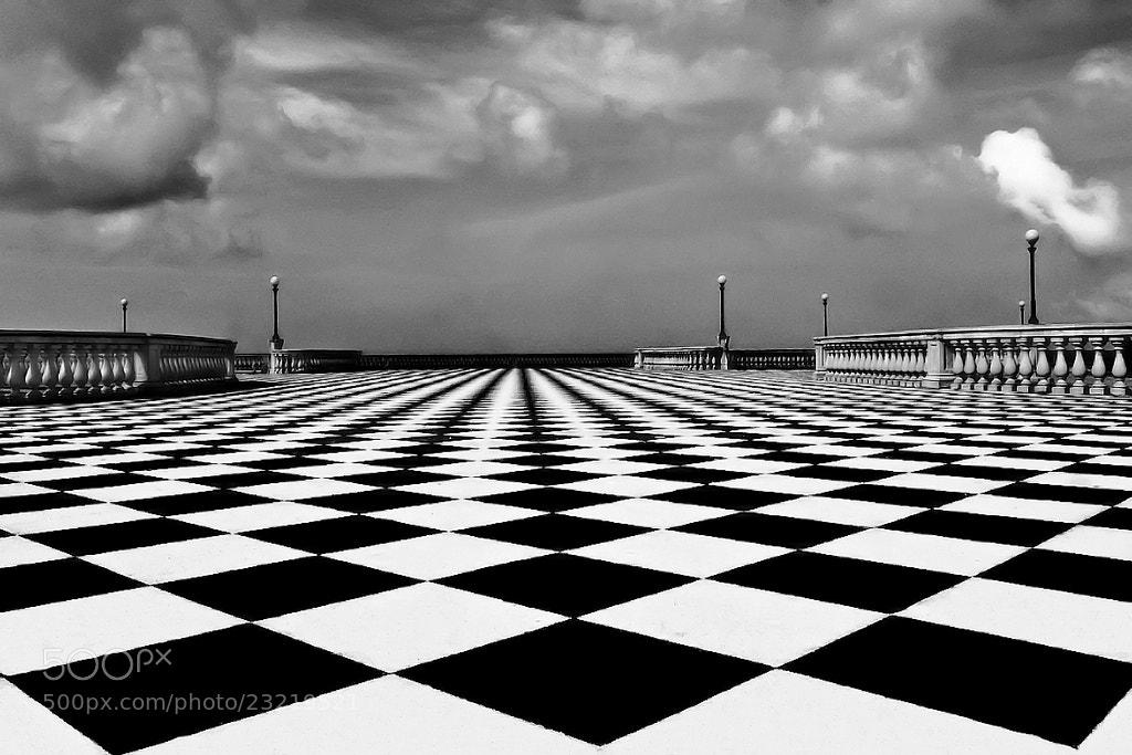 Photograph Checkerboard Hypnotic by Carlo Tardani on 500px