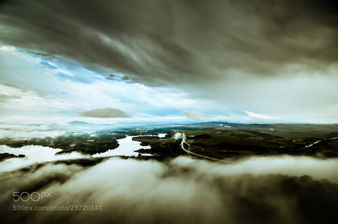 Photograph Canberra between the Clouds by Vinoth Kumar on 500px