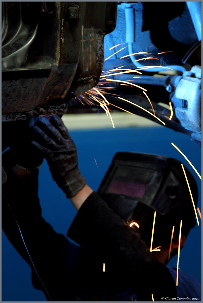Photograph The Welder by Ciaran Cummins on 500px