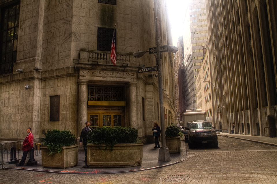 Photograph New York Stock Exchange - Wall St. by Guy Prives on 500px