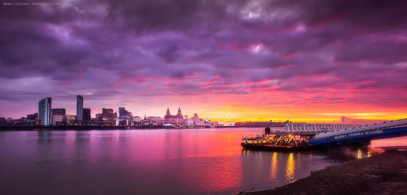 Photograph Beautiful Liverpool Dawn by Lee  Carus on 500px