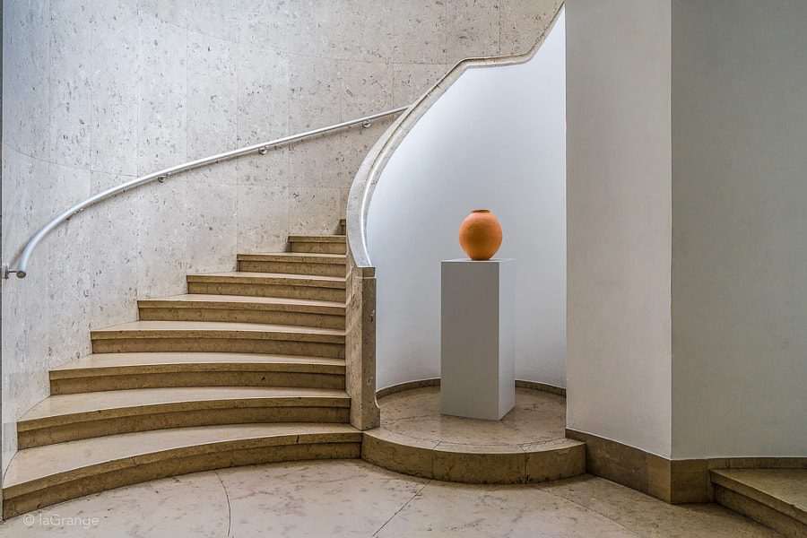 Staircase at Boijmans by Luc Vangindertael (laGrange) on 500px.com
