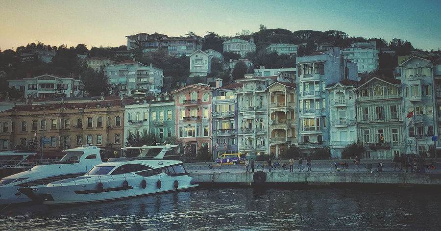 a small part of istanbul by Ahmet Hamdi on 500px.com