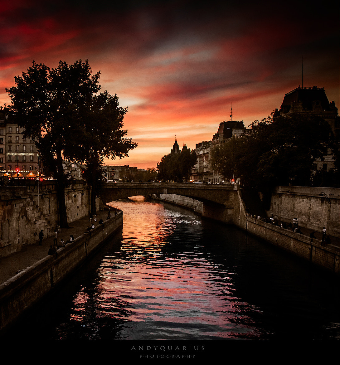 Photograph Paris beautiful sunset by Andy Quarius on 500px
