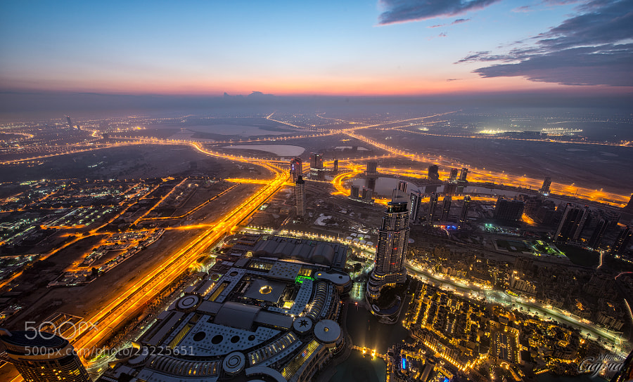 Dawn over Dubai 2 - Other Side