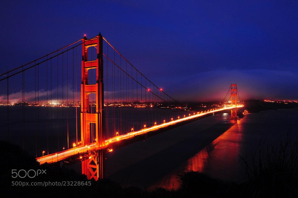 Photograph Golden Gate by Panitan Jutaporn on 500px
