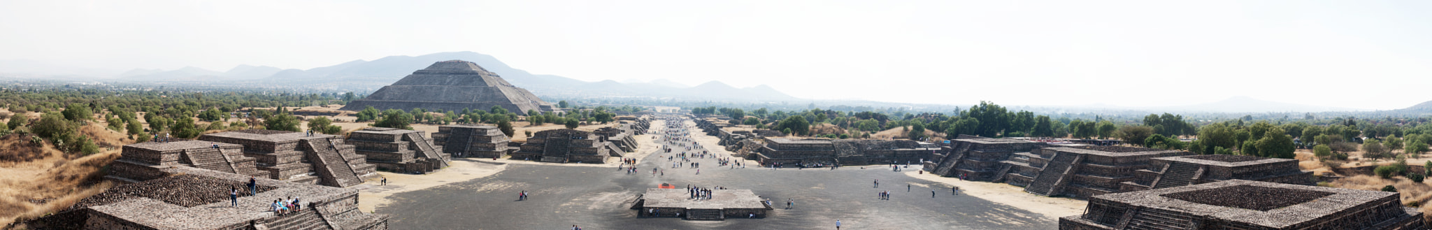 Photograph Panorama Teotihuacan by Aurelien Lina on 500px