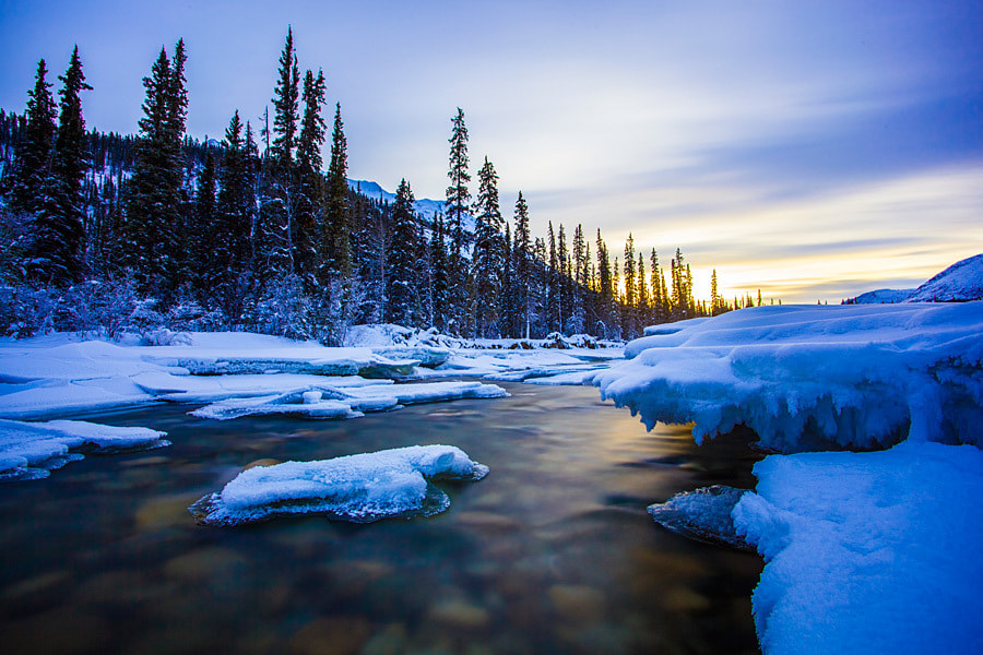 Photograph Wheaton River sunset by Nicolas Dory on 500px