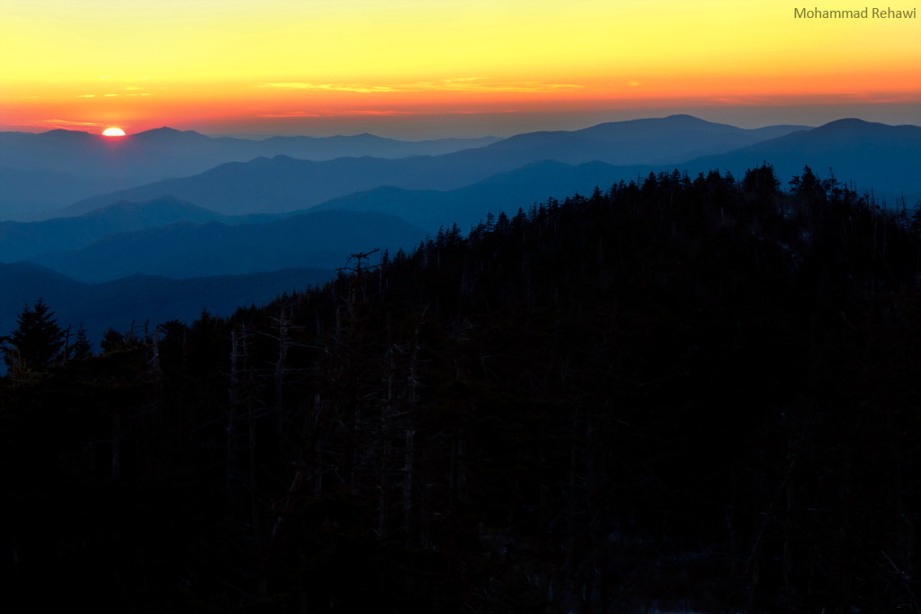 Photograph The Blue Hour - Smoky Mountains I by Mohammad Rehawi on 500px