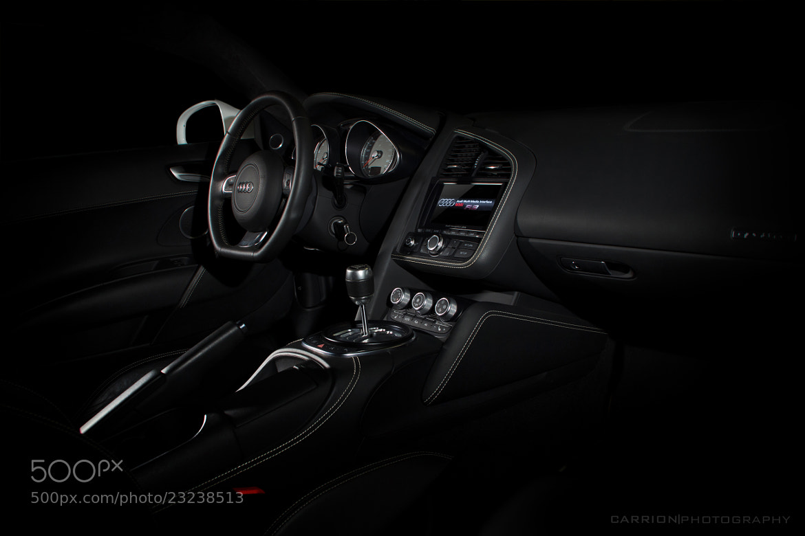 Photograph inside R8 by JJCarrion  on 500px