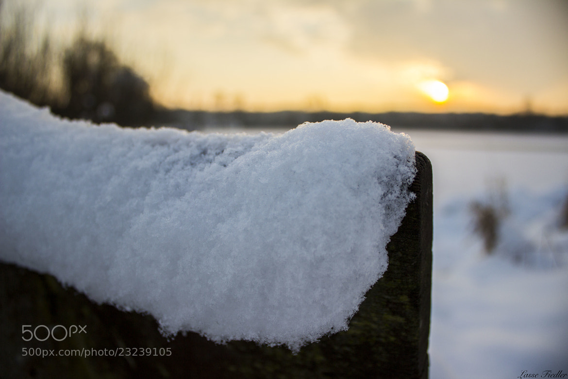 Photograph Snow Bench by Lasse Fiedler on 500px