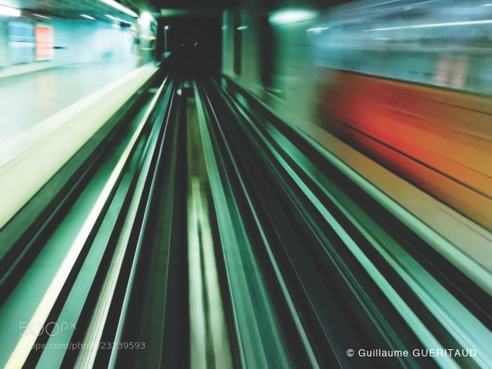 Photograph SUBWAY by Guillaume GUERITAUD on 500px