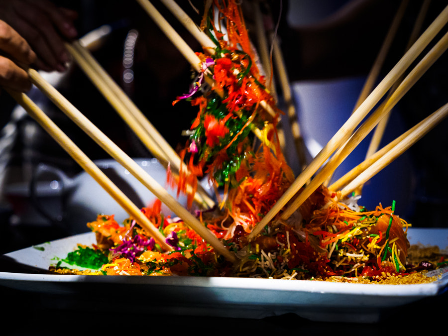Lou Sang! A Chinese New Year traditional dish by Paul Seow on 500px.com