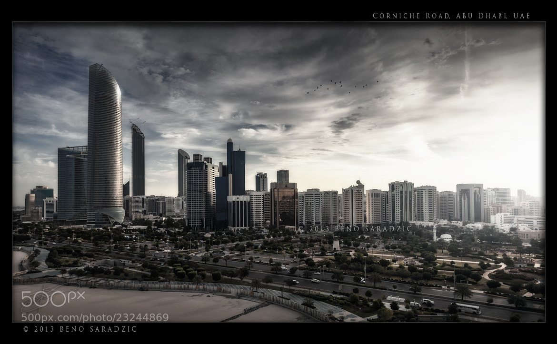 Photograph Abu Dhabi Corniche Road by Beno Saradzic on 500px