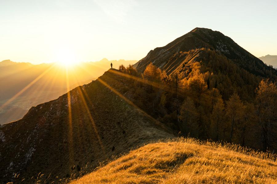 Autumn sunset in Austria by Daniel Fischer on 500px.com