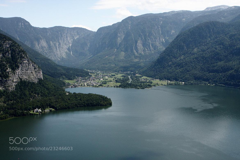 Photograph Hallstatt Lake, Austria by Michael Backes on 500px