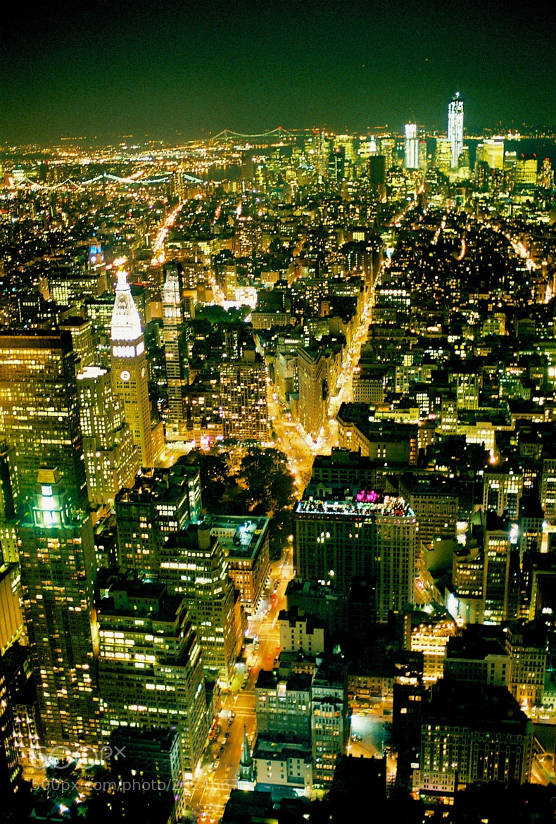 Photograph The City That Never Sleeps by Wei-Di Chang on 500px