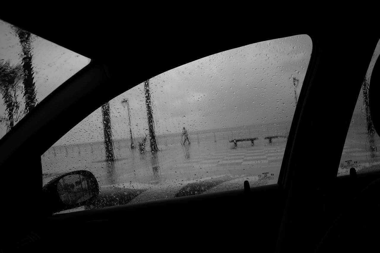 Photograph My car kept me dry  by Ahmed  ghazzawi on 500px