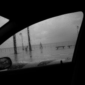 My car kept me dry  by Ahmed  ghazzawi (ahmedghazzawi)) on 500px.com