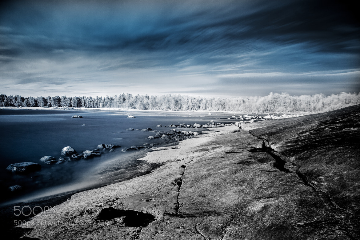 Photograph Blue - Infrared by Jari Peltoniemi on 500px