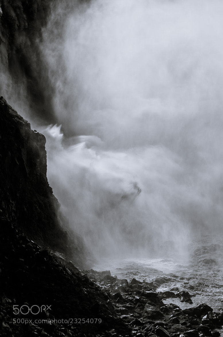 Photograph Down the Dettifoss by Jasper Bos on 500px